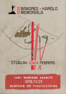 2019 bandres+karolo memoriala izen emateak